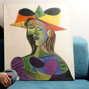 'Busto de mujer' Picasso robado Arthur Brand efe