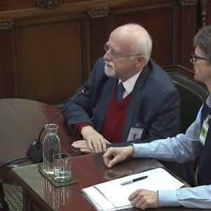 juicio procés Bernard Felix von Grünberg declarant