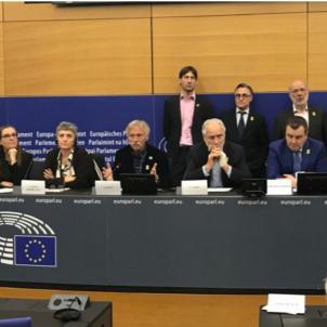Eurodiputats observadors judici Plataforma Cat-UE