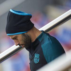 Javier Mascherano entrenament Barça EFE