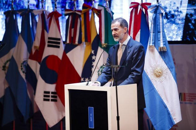 Lo + Viral: El blooper del rey Felipe VI al hablar de Borges