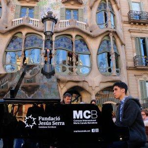 Maria Canals pianos cua passeig Gràcia ACN