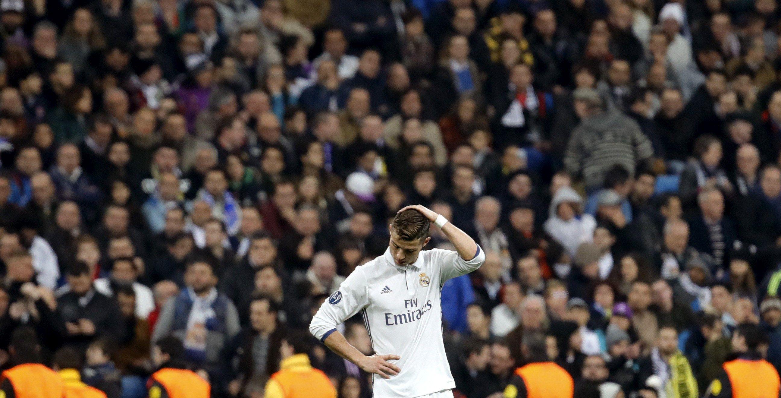 Cristiano Ronaldo Madrid Dortmund Bernabeu Champions EFE