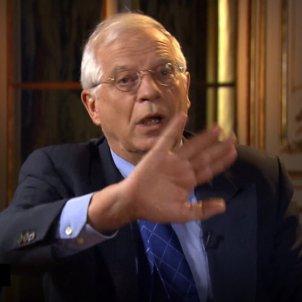 Borrell abandona entrevista dw news - dw news