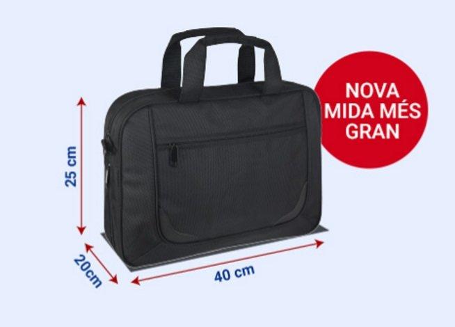 es lo mismo equipaje de mano que bolsa pequeña