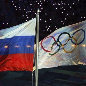 Russia Bandera olímpica dopatge EFE