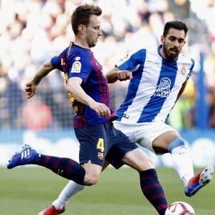Rakitic Borja Iglesias Barça Espanyol