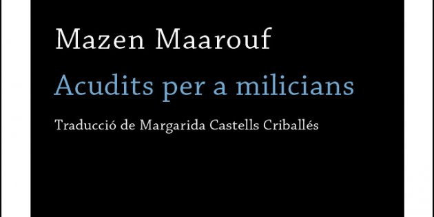 Mazen Maarouf, 'Chistes para milicianos'. Alianza, 160 pp., 15,50 €.