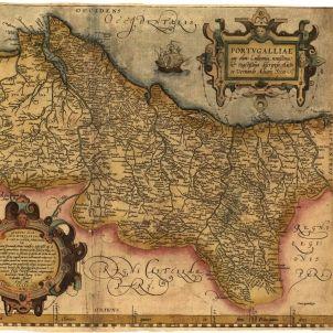 Mapa de Portugal. Any 1560 (1)