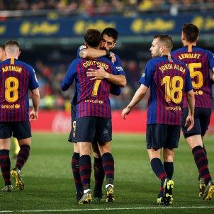 Suarez Coutinho Vilareal Barça EFE