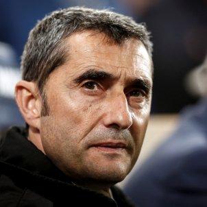 Ernesto Valverde Vila real Barça EFE