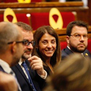 Meritxell Budó Pere Aragonès Parlament abril 2019 Sergi Alcàzar