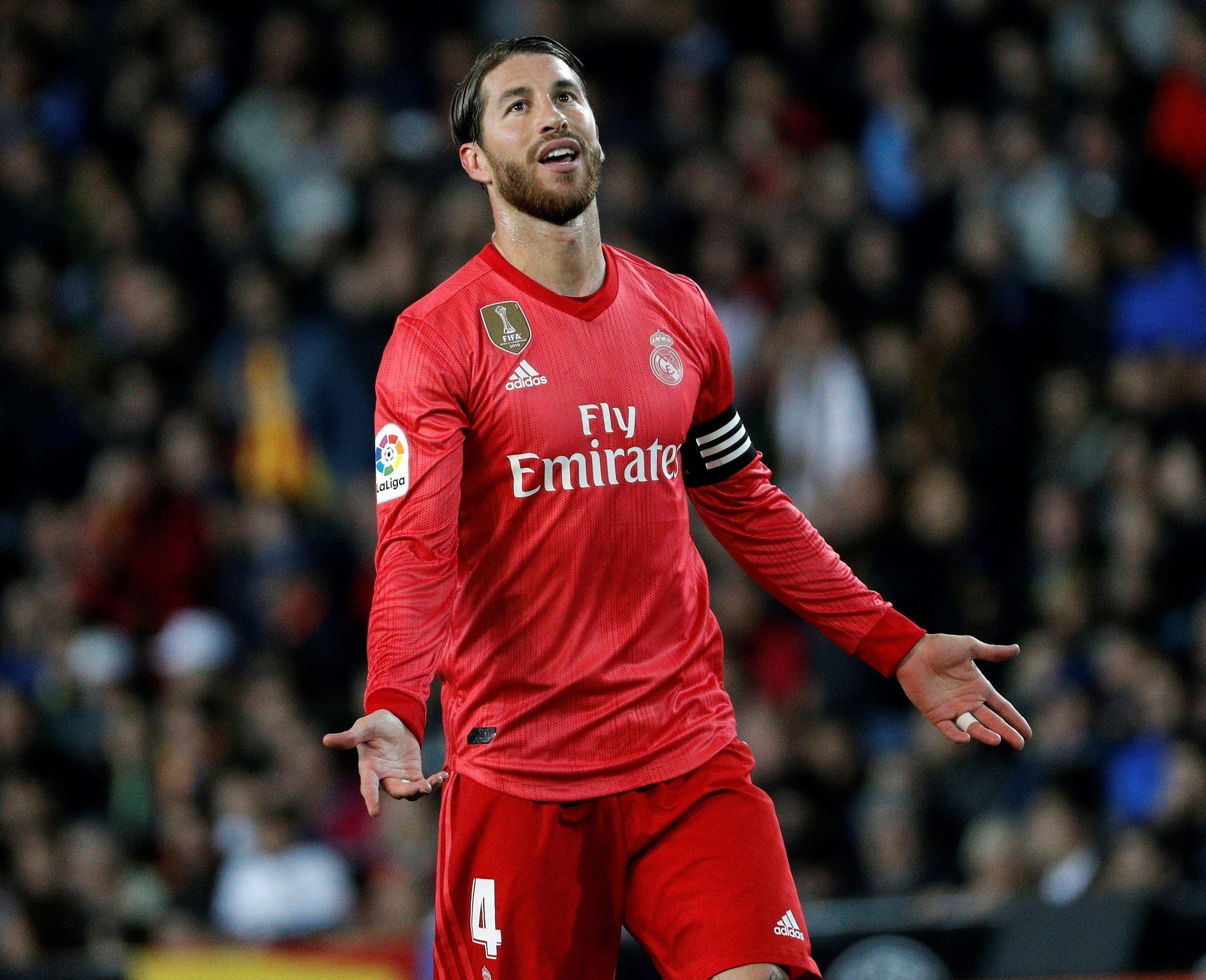 Sergio Ramos València Reial Madrid EFE