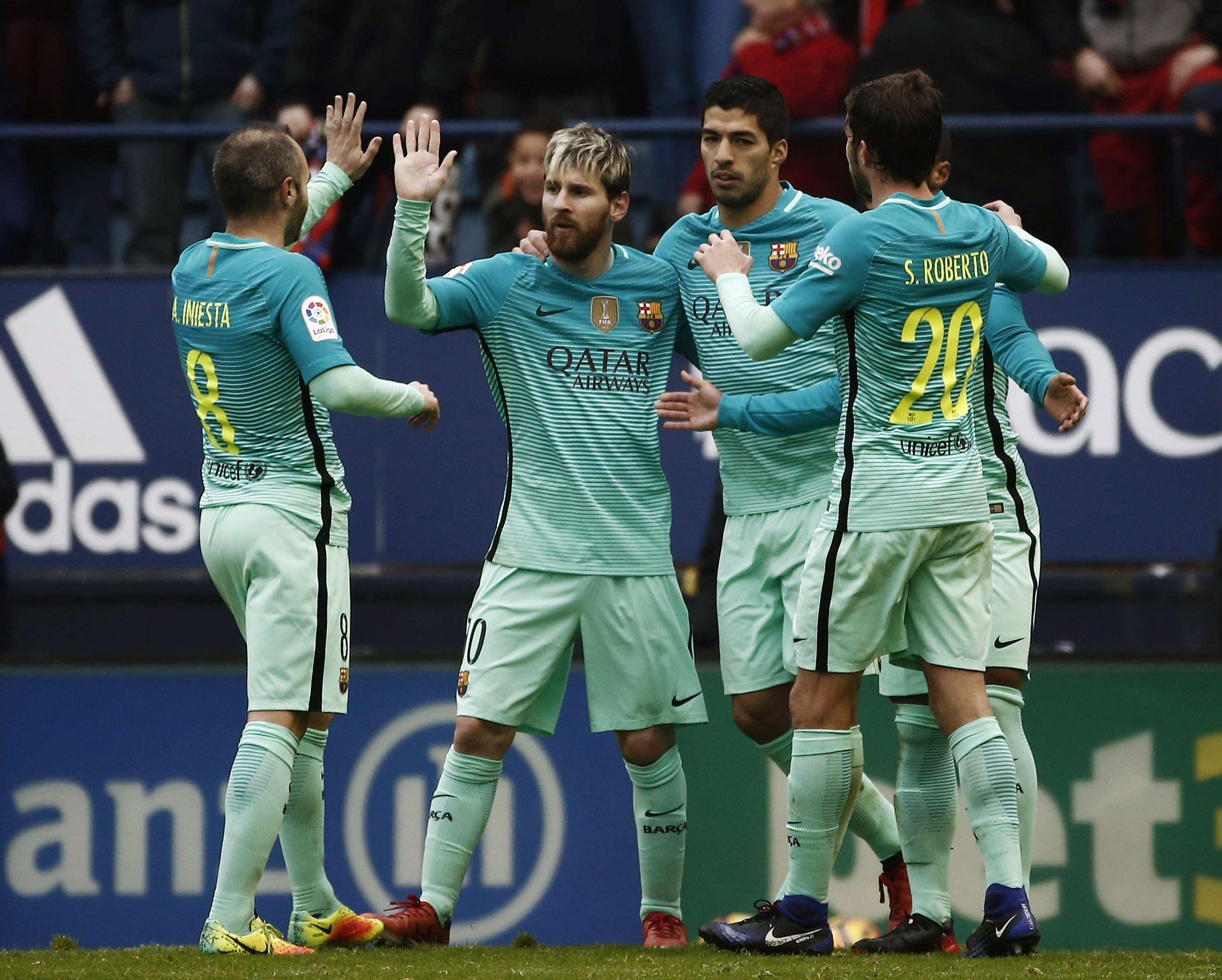 Messi Barça Osasuna EFE