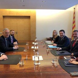 simon manley ambaixador britànic Aragones / Govern