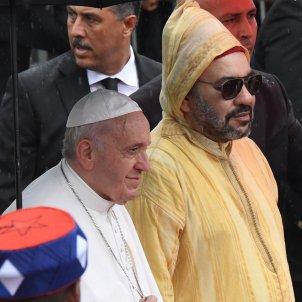 Papa Francesc rei Mohamed VI Marroc Efe