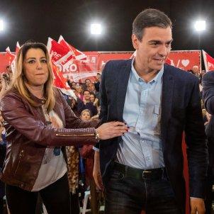 Pedro Sánchez Susana Díaz EFE Sevilla