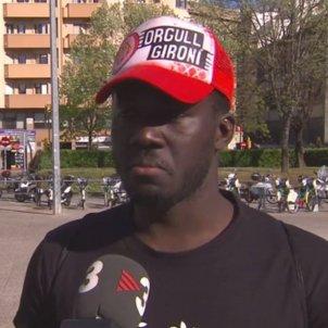 Muhammed Sanneh aficionat Girona TV3