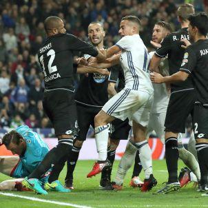 Lucas Vázquez Sergio Ramos Reial Madrid Deportivo Efe