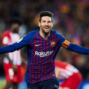 Leo Messi Barca Atletic EFE