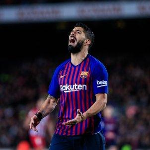 Luis Suárez ràbia Barça Atlètic Madrid Xavi Bonilla AFP7 Europapress