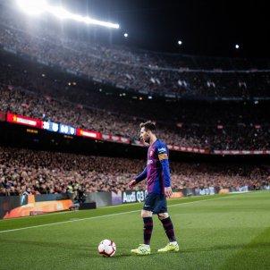 Leo Messi Camp Nou Barça Atlètic Madrid Xavi Bonilla AFP7 Europapress