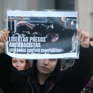 protesta detenció antifeixista vox