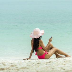 Vacaciones móvil PxHere