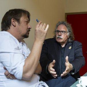 Joan Tardà ERC i Xavier Domenech - Sergi Alcàzar