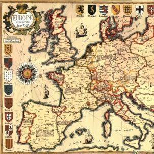 Carta d'Europa. Any 1500