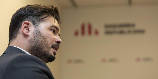 Gabriel Reufian ERC - Sergi Alcazar