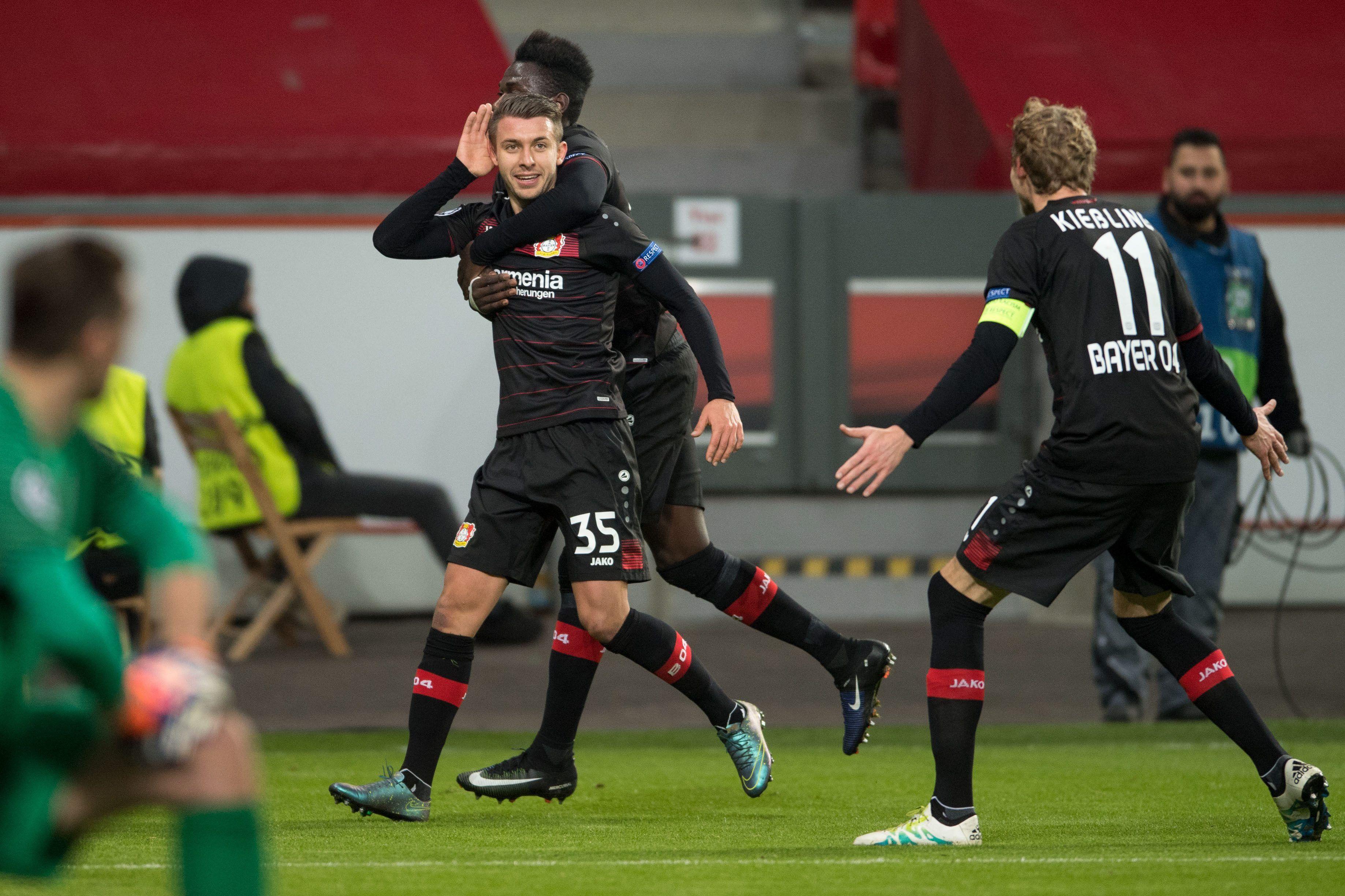 Leverkusen Champions   EFE