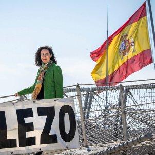 margarita robles bandera espanyola efe