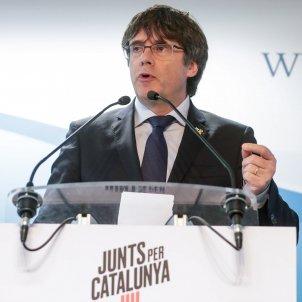Presentació candidatura Jxcat Carles Puigdemont Brusseles - Efe