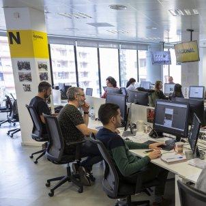 Redaccio El Nacional redactors - Sergi Alcazar