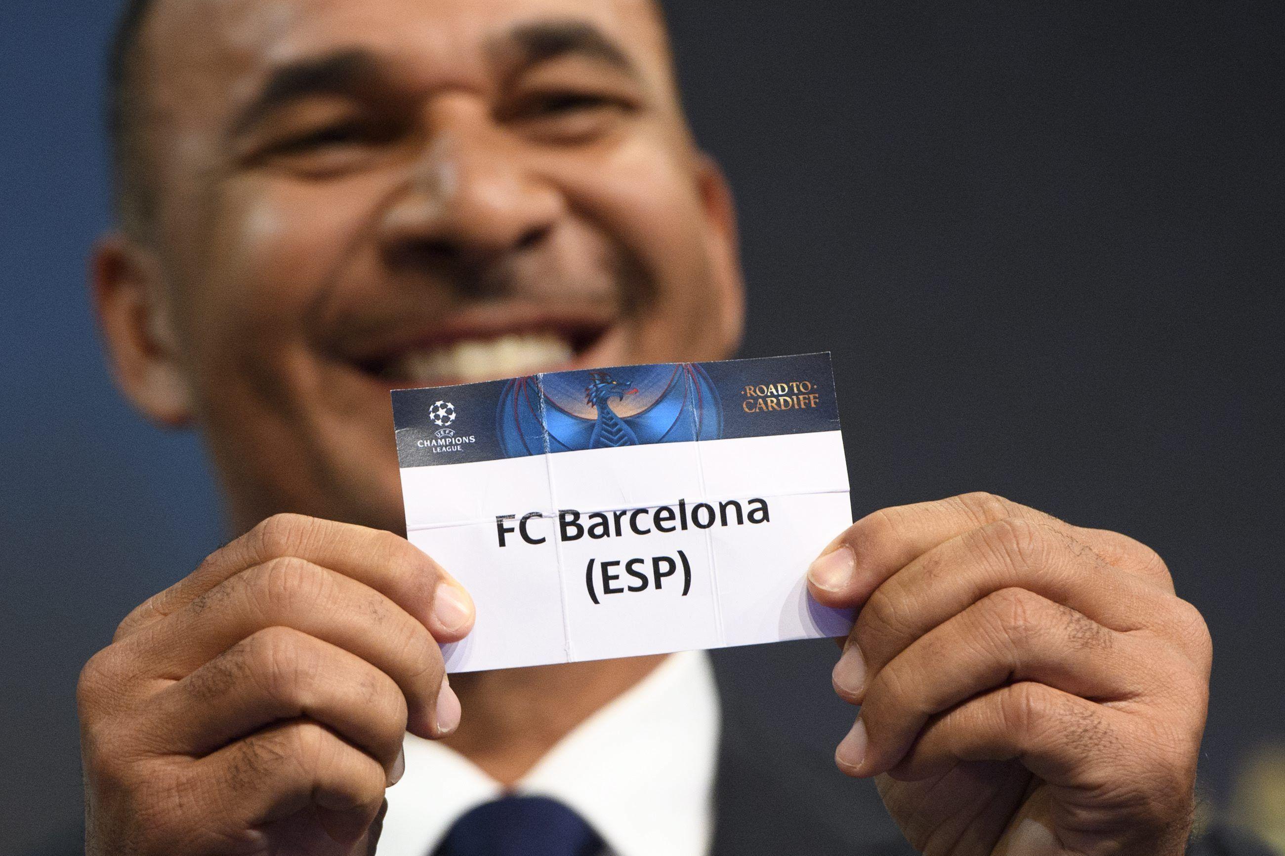 FC Barcelona Sorteig Champions League   EFE.