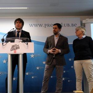 Puigdemont comin ponsati  JuntsxCat europees ACN