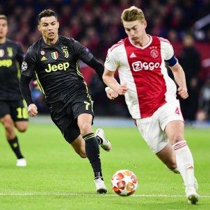 De Ligt Cristiano Ajax Juventus EFE