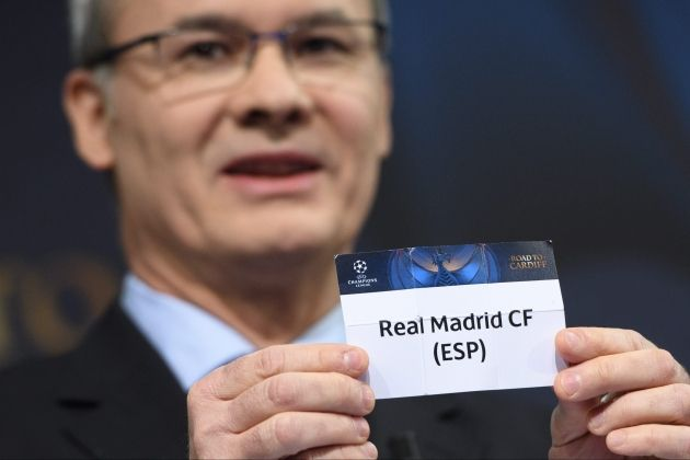 Reial Madrid Sorteig Champions League   EFE.