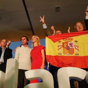 Jose Maria Aznar Cayetana Alvarez Alejandro Fernandez miting PP Barcelona 28-A - Sergi Alcàzar