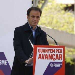 Jaume Asens campanya 28a Lleida - ACN