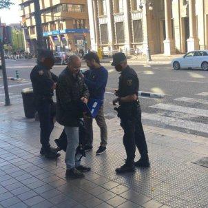 Picornell aturat Dia Pais Valencià 2019