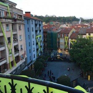 Poble renteria acte ciutadans llaços grocs eleccions 28-a - @andermgt