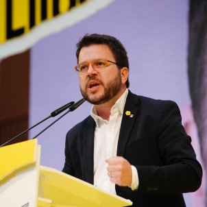 Acte central ERC elecicons 28-a Pere Aragonès- Sergi Alcàzar
