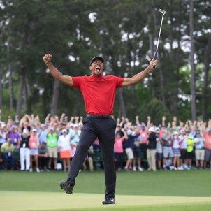 Tiger Woods guanya Augusta EFE