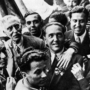 Test 54. Els Fets de Prats de Molló. Homenatge als combatents de Prats de Molló (1931). Font Espai Macià