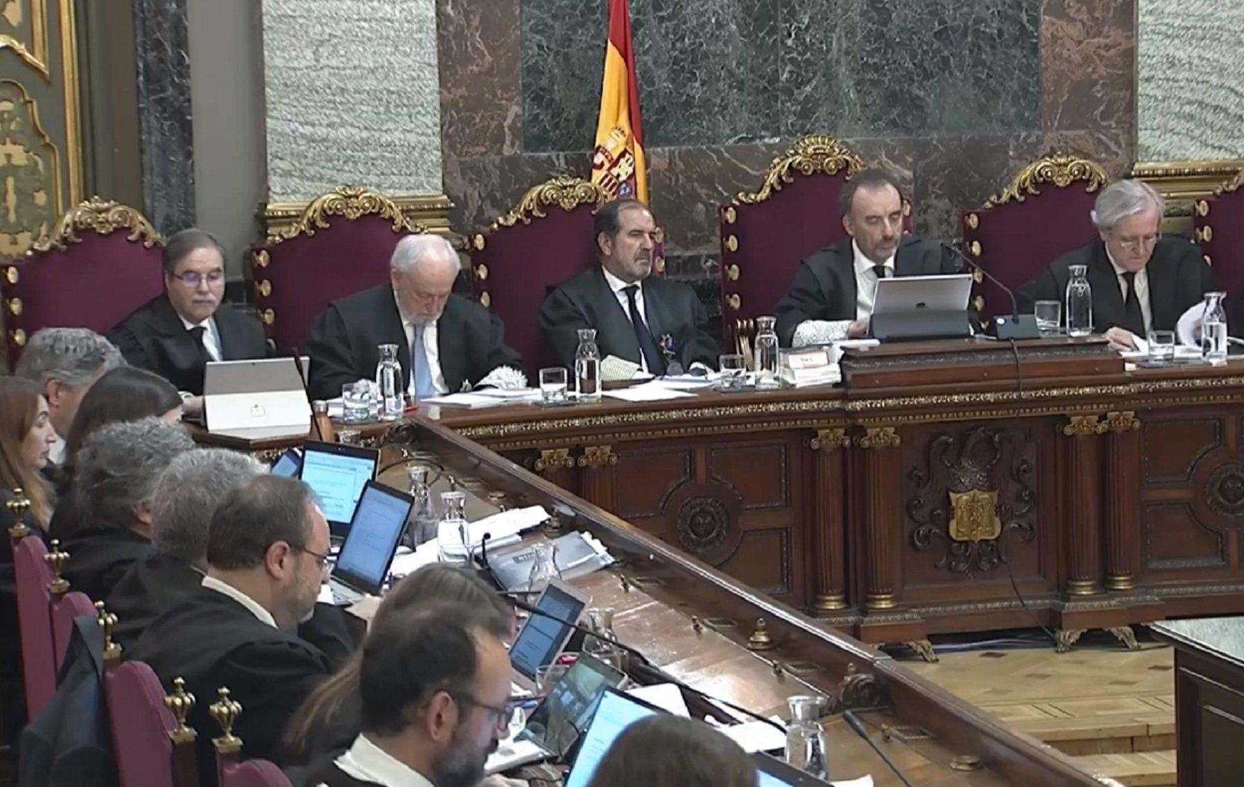 judici proces sala tribunal suprem