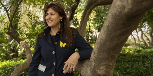 Laura Borràs JxCat cigne - Sergi Alcazar