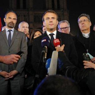 Emmanuel Macron Notre Dame EFE