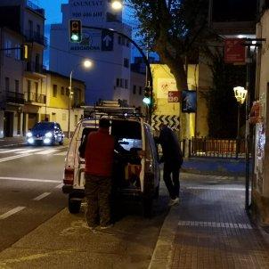 Canet pancarta robada ERC CanetdeMar